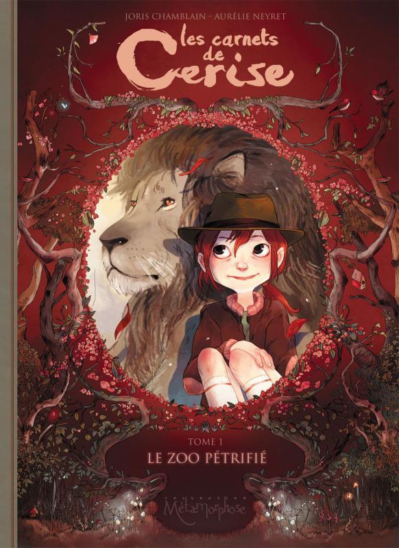 Les Carnets de Cerise T1 : Le Zoo pétrifié (0), bd chez Soleil de Chamblain, Neyret
