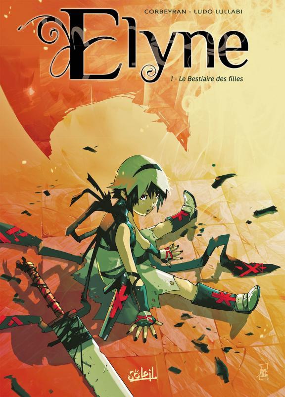 Elyne T1 : Le Bestiaire des filles (0), bd chez Soleil de Corbeyran, Lullabi, Washington