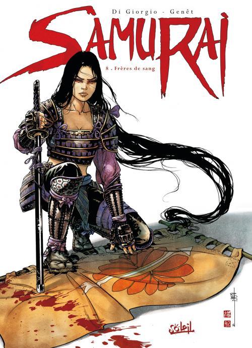 Samurai – cycle 3, T8 : Frères de sang (0), bd chez Soleil de Di Giorgio, Genet, Rieu