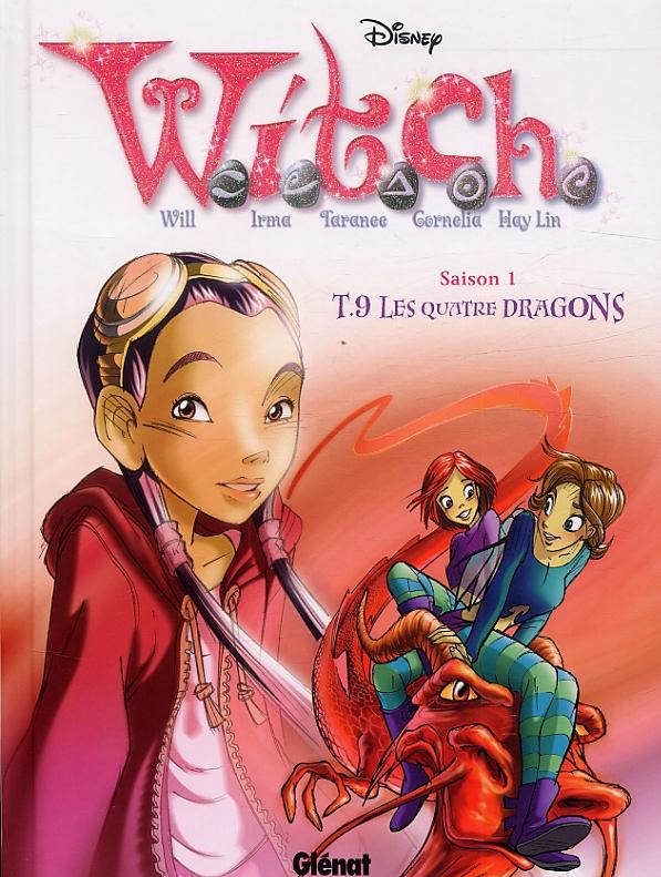 Witch – Saison 1, T9 : Les Quatre Dragons (0), bd chez Glénat de Collectif