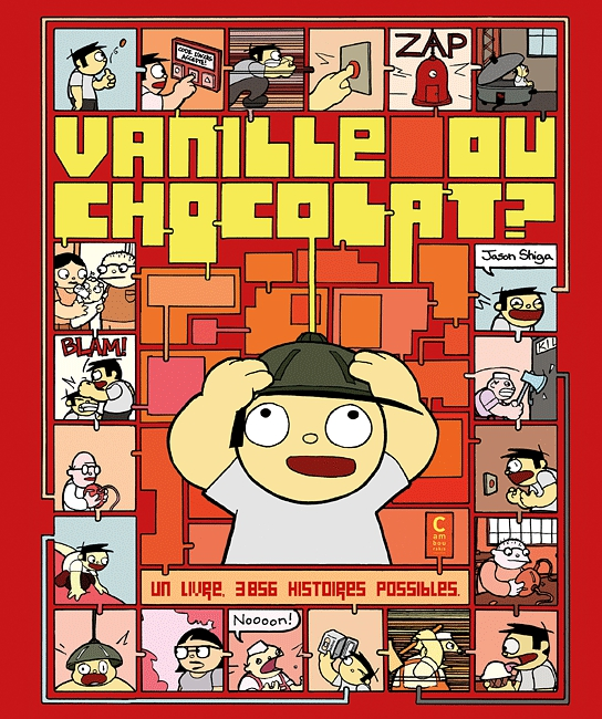 Vanille ou chocolat ?, comics chez Cambourakis de Shiga
