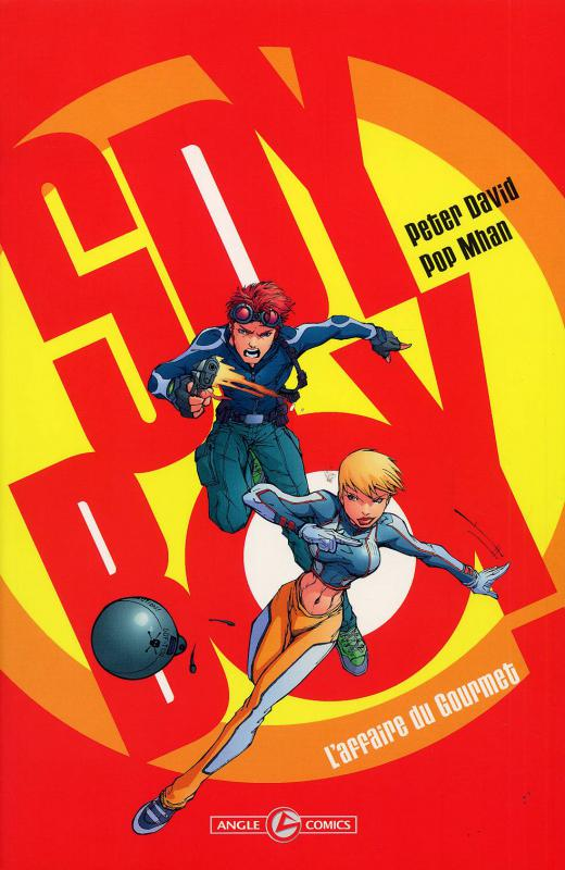 Spyboy T1 : L'affaire du Gourmet (0), comics chez Bamboo de David, Pop , Major
