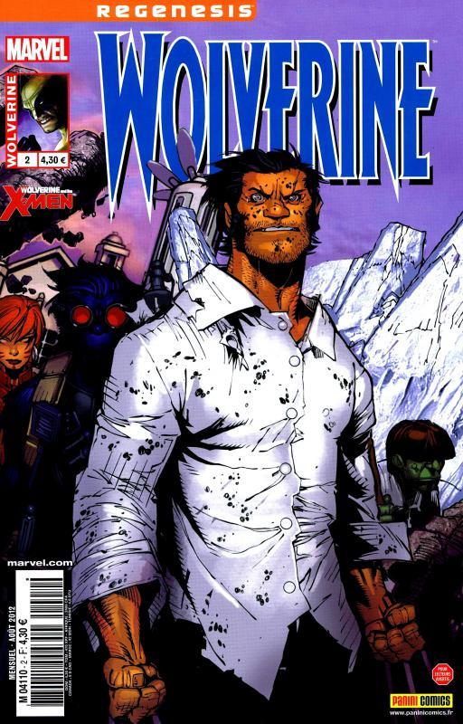 Wolverine (revue) – Revue V 3, T2 : Un jour ordinaire dans le Westchester (0), comics chez Panini Comics de Aaron, Bachalo, Bradshaw, Rouleau, Scalera, Garney, Keith