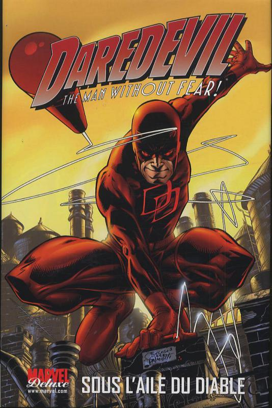 Daredevil - L'homme sans peur – Marvel Deluxe, T1 : Sous l'aile du diable (Marvel Knights) (0), comics chez Panini Comics de Mack, Smith, Conner, Palmiotti, Haynes, Jones, Romita Sr, Dillon, Ross, Lee, Nowlan, Cassaday, Quesada, Isanove, Self, Sotomayor