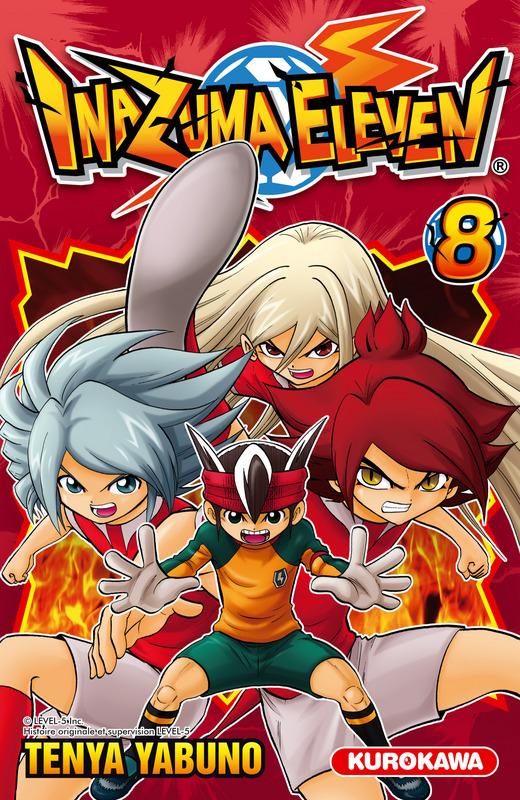 Inazuma eleven T8, manga chez Kurokawa de Yabuno