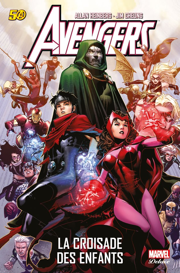 The Avengers : La croisade des enfants (0), comics chez Panini Comics de Davis, Heinberg, McCann, Samnee, Cheung, Rodriguez, Wilson, Ponsor, Mounts