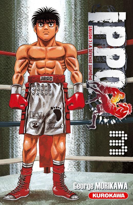 Ippo – Saison 3 - La défense suprême, T3, manga chez Kurokawa de Morikawa