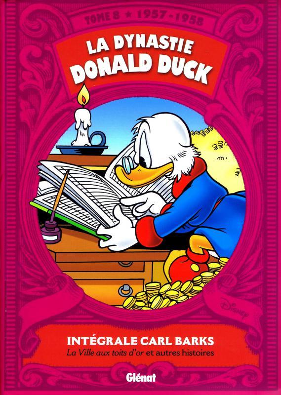 La Dynastie Donald Duck T8 : 1957-1958 (0), comics chez Glénat de Barks
