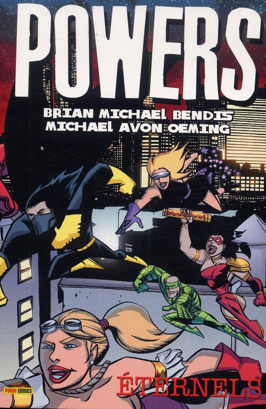 Powers T7 : Eternels (0), comics chez Panini Comics de Bendis, Oeming, Pantazis