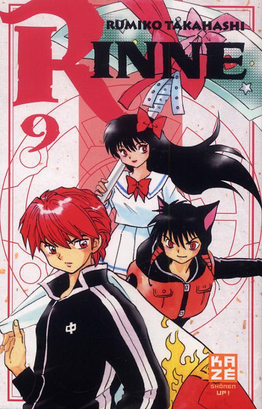 Rinne T9, manga chez Kazé manga de Takahashi
