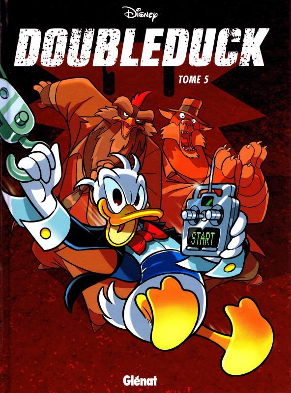 Donald T5 : Doubleduck (0), bd chez Glénat de Collectif