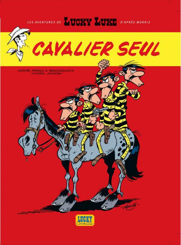 Les Nouvelles aventures de Lucky Luke T5 : Cavalier seul (0), bd chez Lucky Comics de Pennac, Benacquista, Achdé, Mel