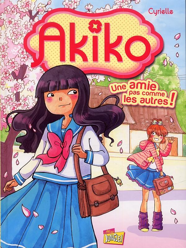 Akiko T1 : Une amie pas comme les autres (0), bd chez Jungle de Cyrielle