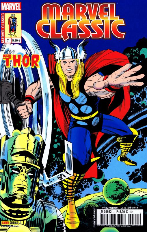 Marvel Classic – V 1, T7 : La naissance de Galactus (0), comics chez Panini Comics de Lee, Kirby