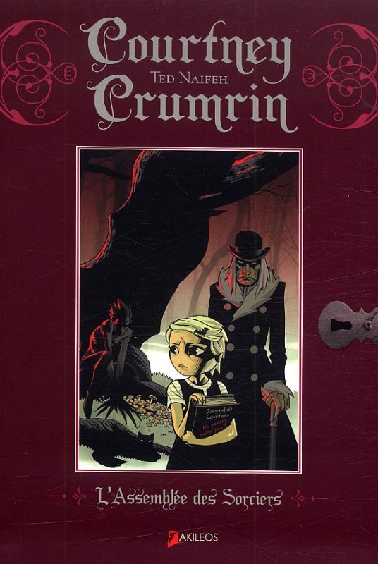Courtney Crumrin – Edition colorisée, T2 : L'assemblée des sorciers (0), comics chez Akileos de Naifeh, Wucinich