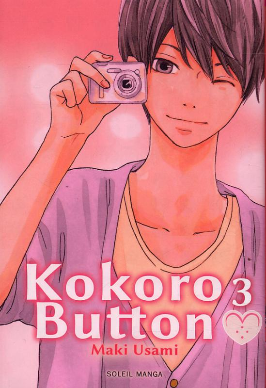 Kokoro button T3, manga chez Soleil de Usami