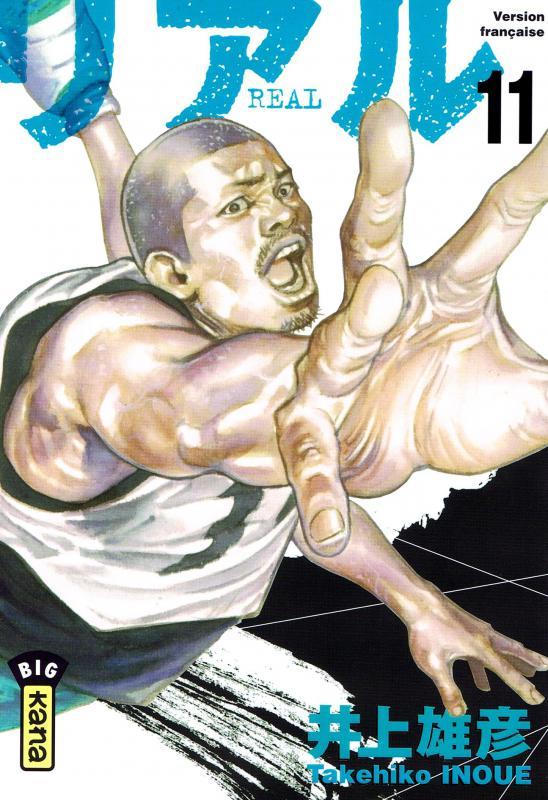 Real T11, manga chez Kana de Inoue