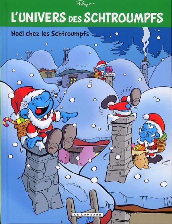 L'Univers des Schtroumpfs T2 : Noël chez les Schtroumpfs (0), bd chez Le Lombard de Peyo