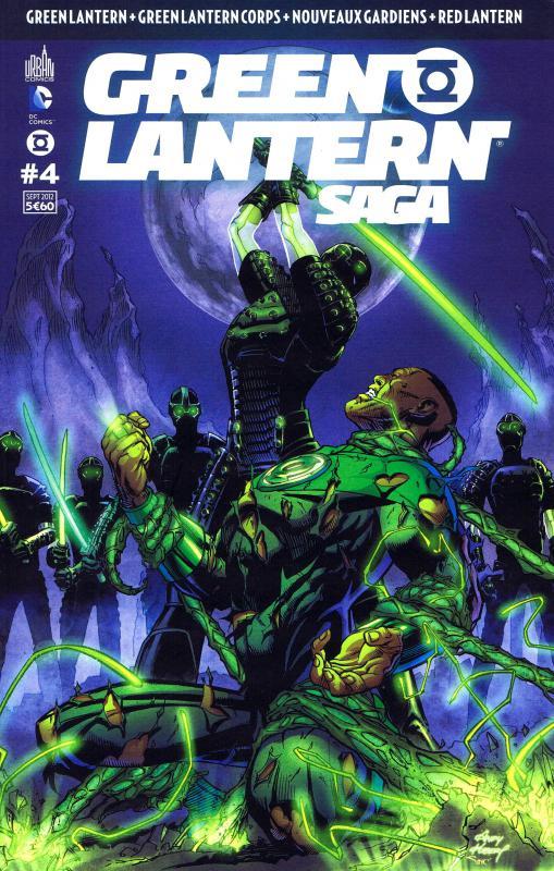 Green Lantern Saga T4, comics chez Urban Comics de Bedard, Tomasi, Milligan, Johns, Kirkham, Bernard, Mahnke, Pasarin, Benes, Eltaeb, Eyring, Baron, Ruffino, Kubert