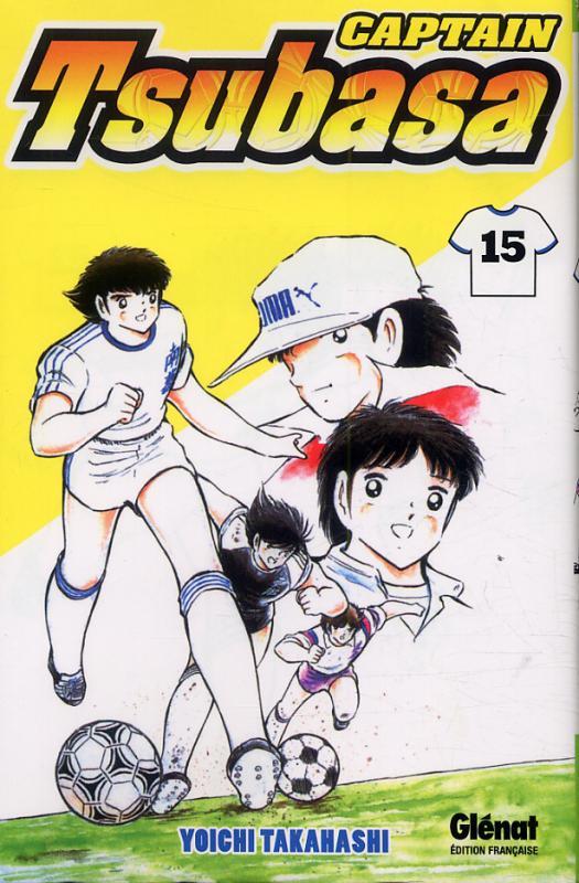 Captain Tsubasa T15, manga chez Glénat de Takahashi