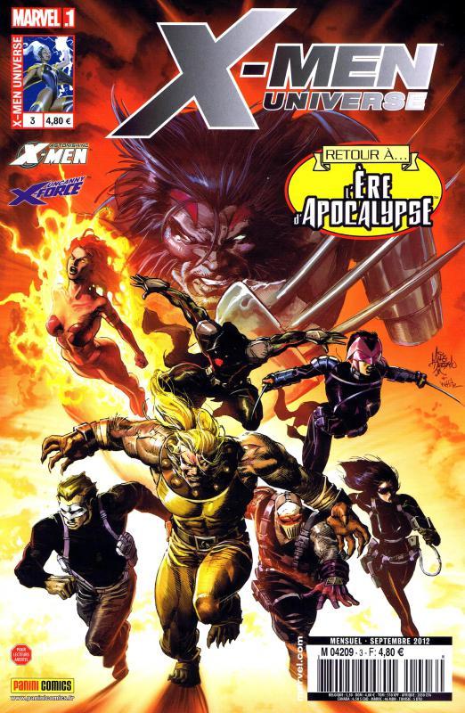 X-Men Universe – Revue V 2, T3 : Le retour des fantômes (0), comics chez Panini Comics de Gischler, Liu, Remender, Perkins, Barrionuevo, Tocchini, Molina, Tan, White, Guru efx, Villarubia, Rosenberg, Lacombe, Troy, Deodato Jr