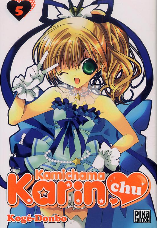Kamichama Karin chu T5, manga chez Pika de Kogé-donbo