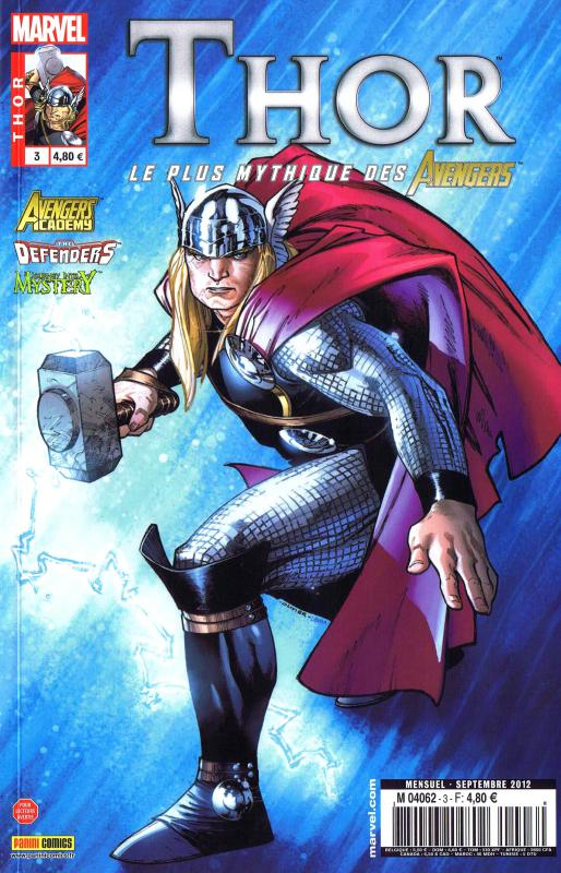 Thor – Revue V 2, T3 : Le puissant Tanarus (0), comics chez Panini Comics de Gage, Fraction, Gillen, Elson, Larraz, Ferry, Dodson, Grummet, Oback, Sotomayor, d' Armata, Kholinne, Coipel
