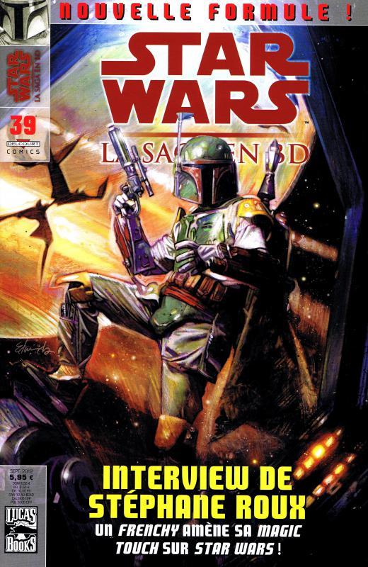 Star Wars (revue) – La saga en BD, T39, comics chez Delcourt de Jolley, Goodwin, Mangles, Nadeau, Williamson, Phillips, Hollingsworth, Sinclair, Porter, Edwards