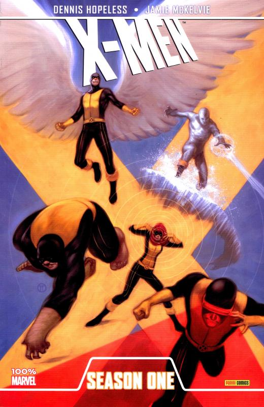Season One : X-Men (0), comics chez Panini Comics de Hopeless, McKelvie, Norton, Wilson, Tedesco