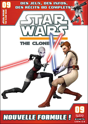 Star Wars (revue) – The clone wars, T9, comics chez Delcourt de DeFalco, Barr, Etherington, Sniley, Roberts, Ponce, Digikore studio