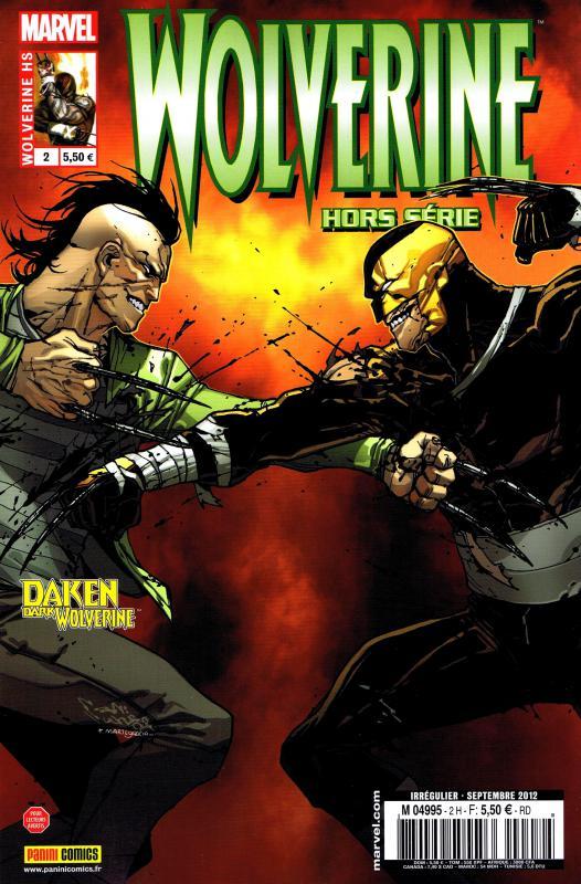 Wolverine (revue) – Hors série, T2 : L'orgueil précède la chute (0), comics chez Panini Comics de Williams, Palmiotti, Yeung, Mutti, Garres, Bertilorenzi, Buffagni, Rosenberg, Peter, Camuncoli