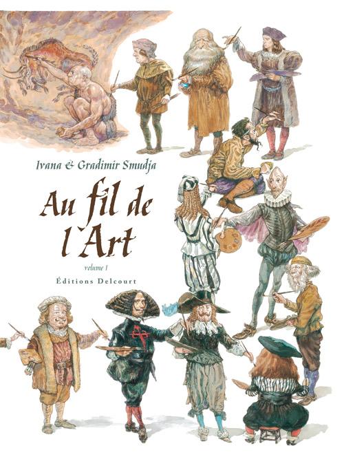 Au fil de l'art T1 : L'Art de la Renaissance (0), bd chez Delcourt de Smudja, Smudja