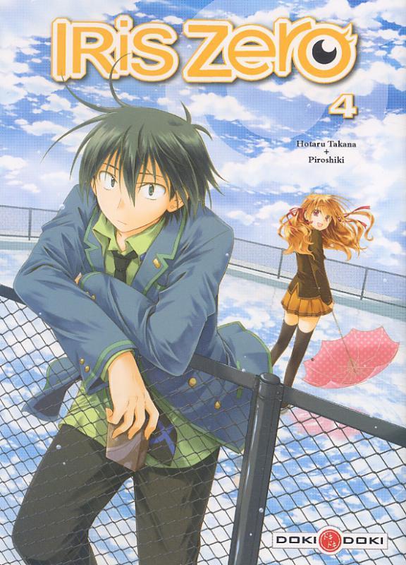 Iris zero T4, manga chez Bamboo de Piroshiki, Tanaka