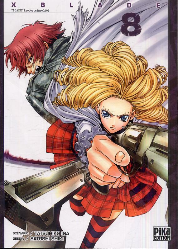 X-Blade T8, manga chez Pika de Ida, Shiki
