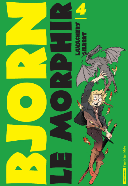 Bjorn le Morphir – cycle 1 : Bjorn aux enfers, T4 : La reine bleue (0), bd chez Casterman de Lavachery, Gilbert