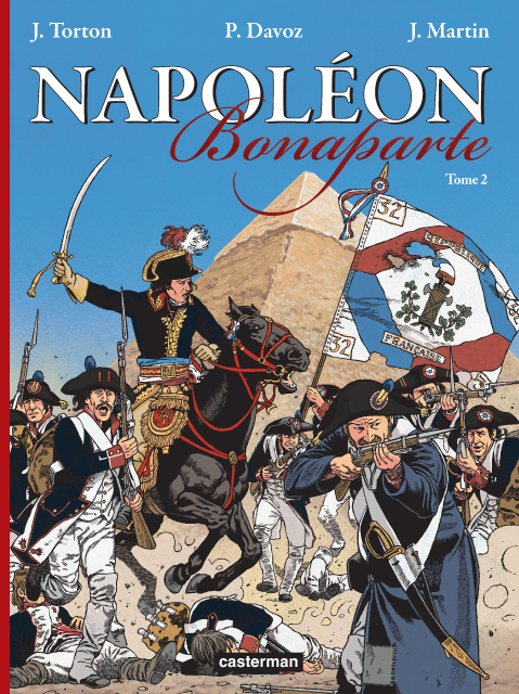 Napoléon Bonaparte T2, bd chez Casterman de Torton, Davoz
