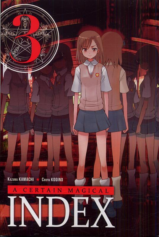 A certain magical index T3, manga chez Ki-oon de Kamachi, Kogino