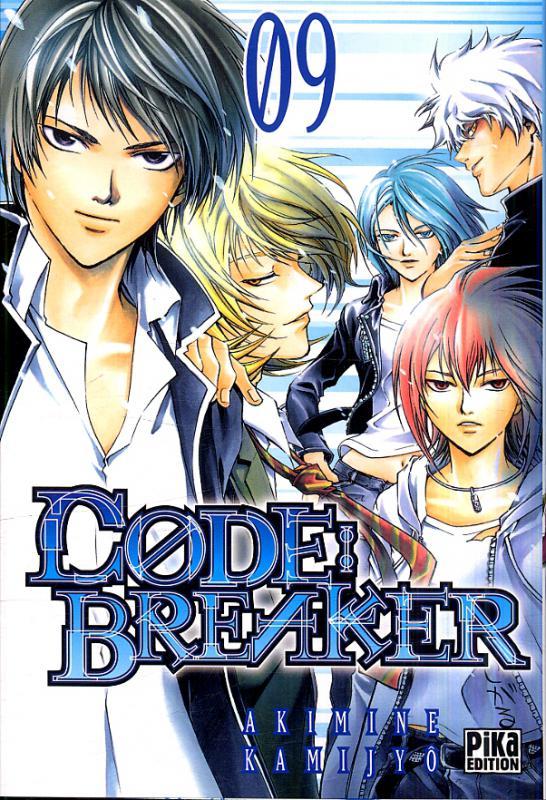 Code breaker  T9, manga chez Pika de Kamijyo