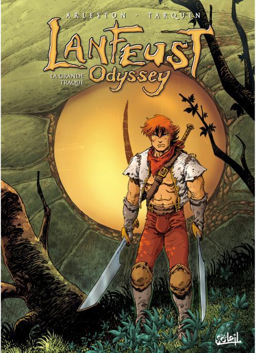 Lanfeust Odyssey T4 : La grande traque (0), bd chez Soleil de Arleston, Tarquin, Lyse