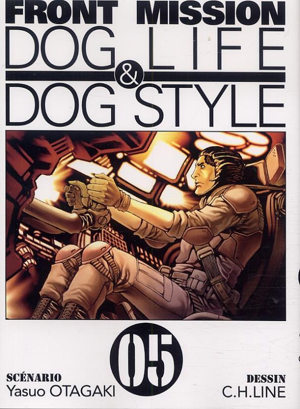 Front Mission - Dog Life and Dog Style T5, manga chez Ki-oon de Otagaki, C.H.LINE