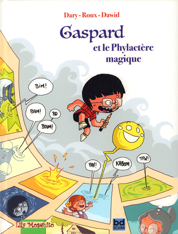 Gaspard et le phylactère magique, bd chez Mosquito de Dary, Roux, Dawid