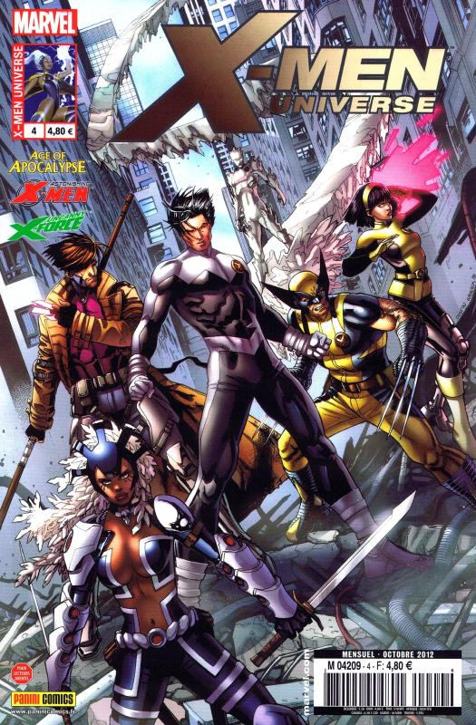 X-Men Universe – Revue V 2, T4 : Contrat ouvert (0), comics chez Panini Comics de Liu, Lapham, Remender, Gischler, Molina, Perkins, De La Torre, Tocchini, White, Loughridge, Troy, Guru efx, Weaver