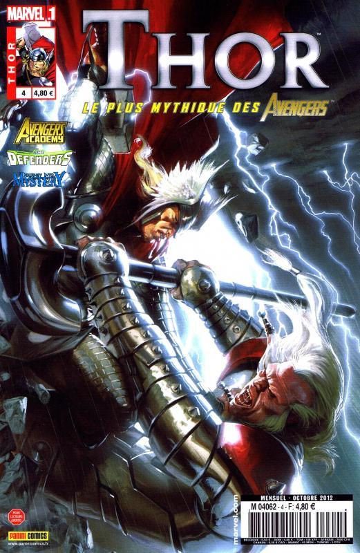 Thor – Revue V 2, T4 : Le petit frère (0), comics chez Panini Comics de Gillen, Fraction, Gage, Lark, Elson, Camuncoli, Kitson, Moline, Hollingsworth, Noor, d' Armata, Sotomayor, Dell'otto