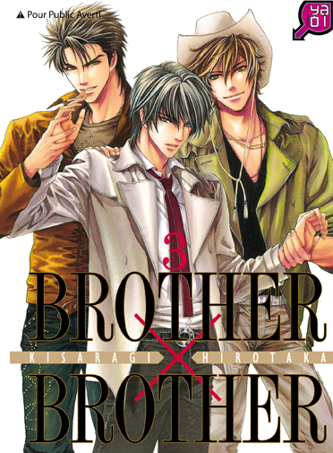 Brother x brother T3, manga chez Taïfu comics de Kisaragi