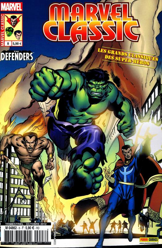 Marvel Classic – V 1, T8 : Le jour des Défenseurs (0), comics chez Panini Comics de Thomas, Andru, Adams