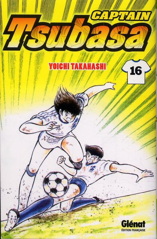 Captain Tsubasa T16, manga chez Glénat de Takahashi