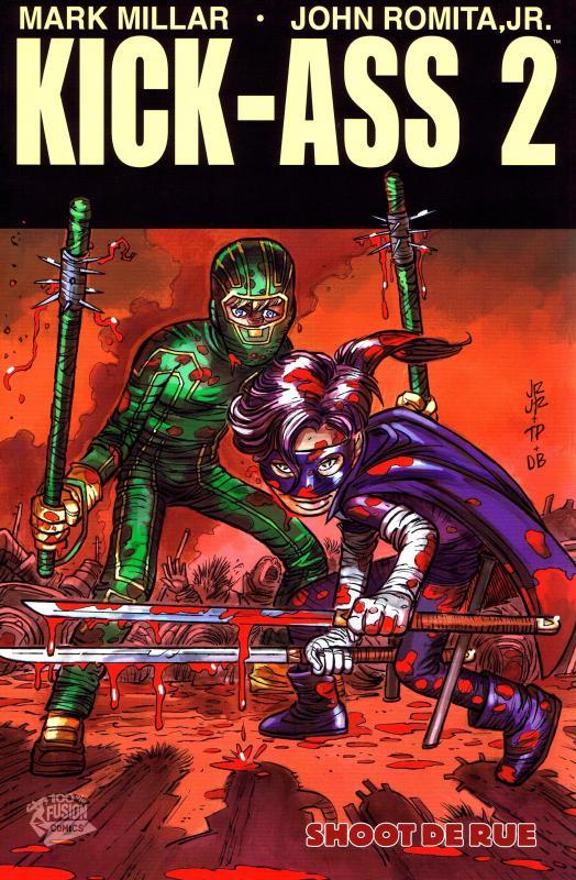 Kick-Ass – cycle 2, T2 : Shoot de rue (0), comics chez Panini Comics de Millar, Romita Jr, Kelleher, White, Brown