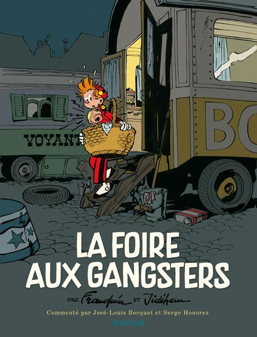 Spirou et Fantasio : La foire aux gangsters (0), bd chez Dupuis de Franquin, Jannin