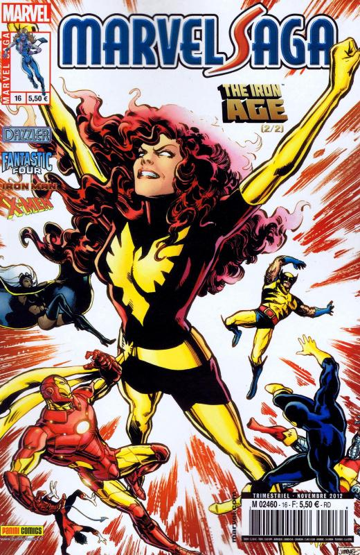 Marvel Saga – V 1, T16 : The Iron Age (2/2) (0), comics chez Panini Comics de Kalan, Simonson, Williams, Isaaks, De La Torre, Frenz, Nauck, Kalisz, Rauch, Mossa, Brown, Jimenez