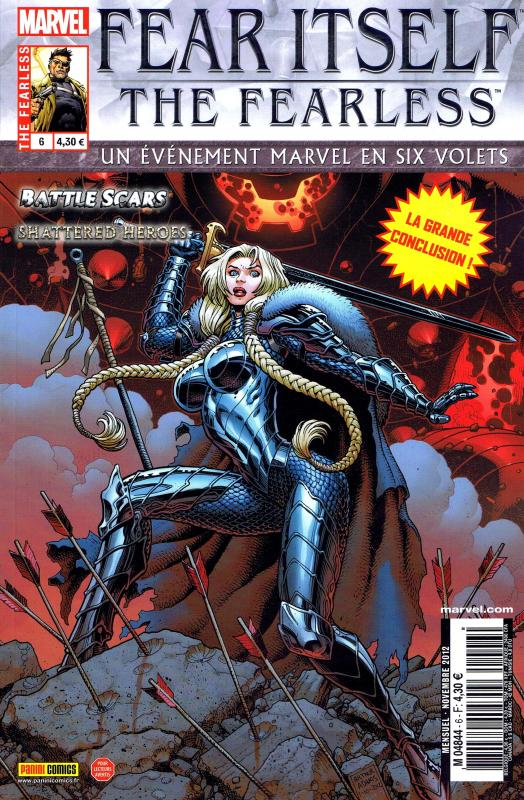Fear Itself – The Fearless, T6, comics chez Panini Comics de Fraction, Bunn, Yost, Pelletier, Bagley, Eaton, Wilson, Lanning, Adams